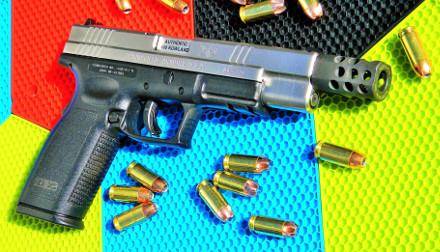 Gun with bullet
